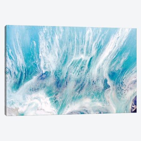 Laguna Soft Seafoam Canvas Print #ATU30} by Antuanelle Canvas Art Print