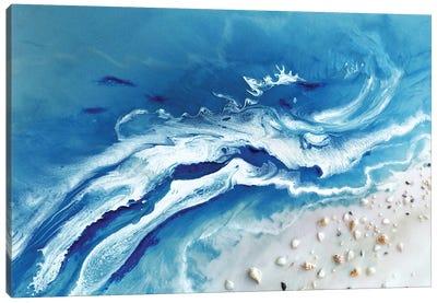 Bali Utopia Grey Canvas Art Print