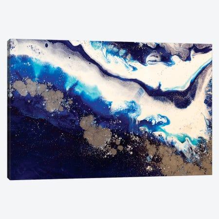 Sydney Harbour Ice Flow Canvas Print #ATU44} by Antuanelle Art Print