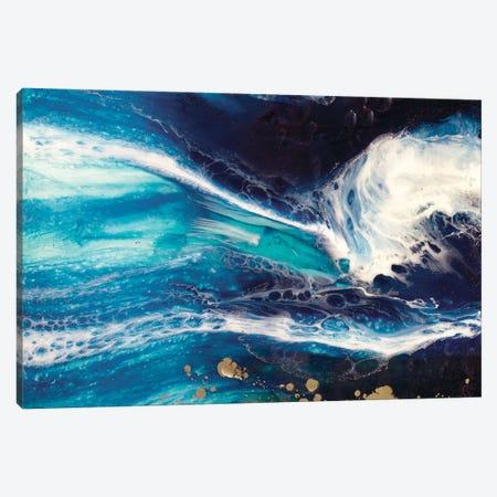 Blue Deep Pandora Canvas Print #ATU6} by Antuanelle Art Print