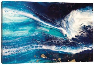 Blue Deep Pandora Canvas Art Print