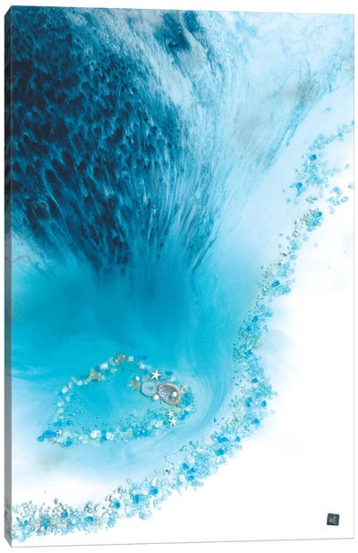 Blue Lagoon Reef Canvas Art Print