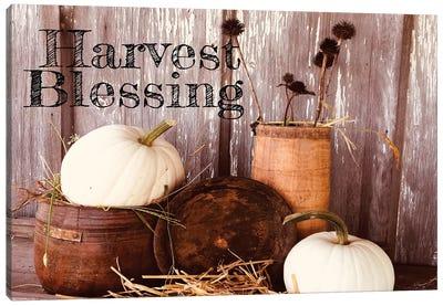 Harvest Blessings Canvas Art Print