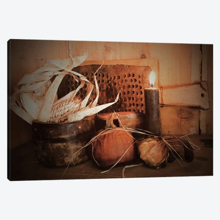Olde Fall Harvest Canvas Print #ATY7} by Anthony Smith Canvas Print