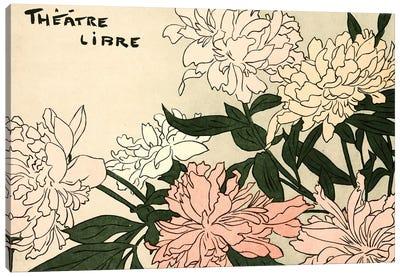 Théâtre Libre Canvas Art Print