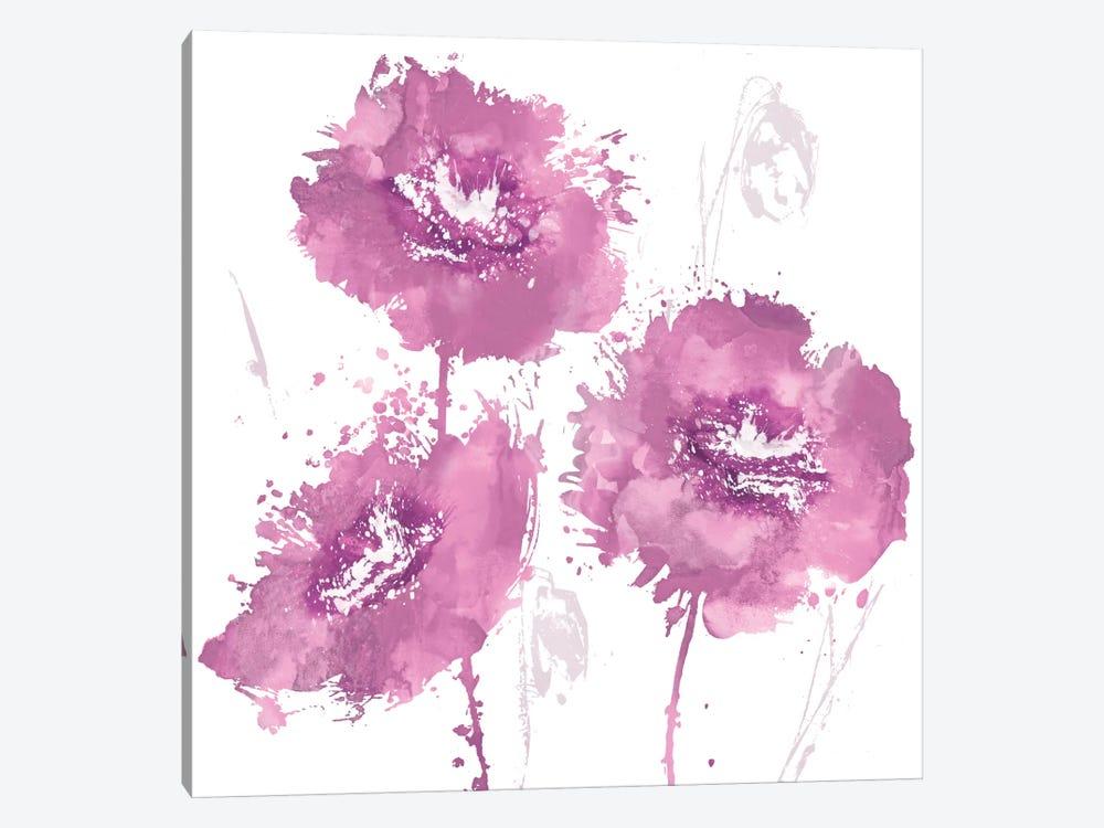 Flower Burst In Pink I by Vanessa Austin 1-piece Canvas Artwork