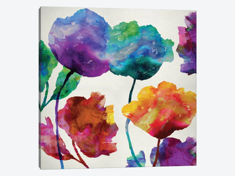 In Full Bloom I 1-piece Canvas Print