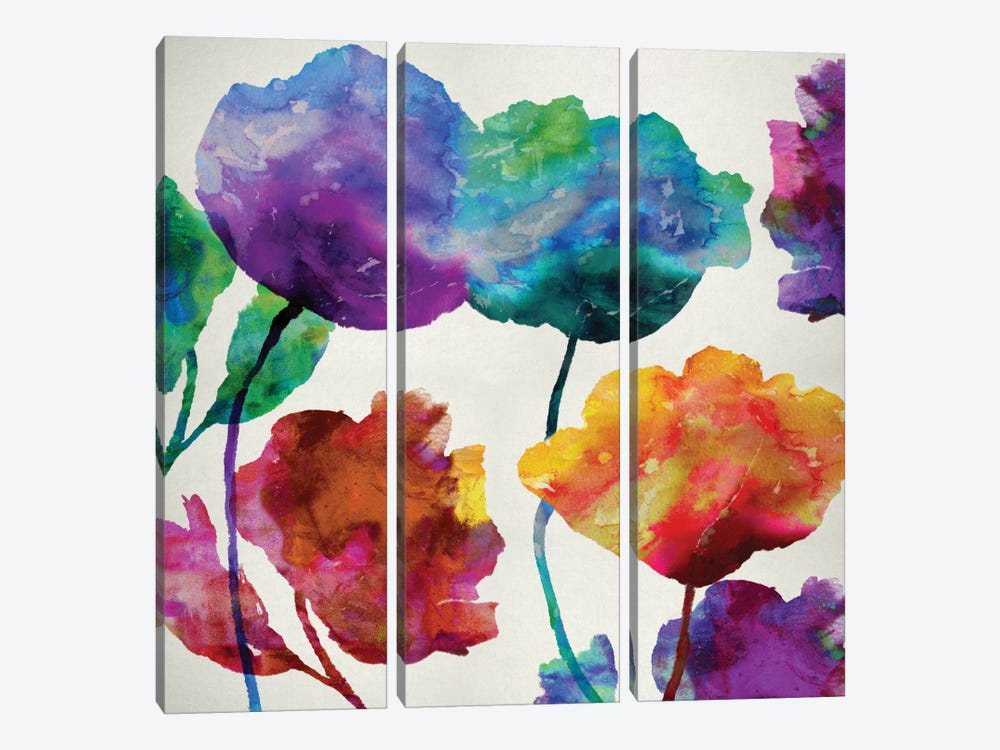 In Full Bloom I 3-piece Art Print