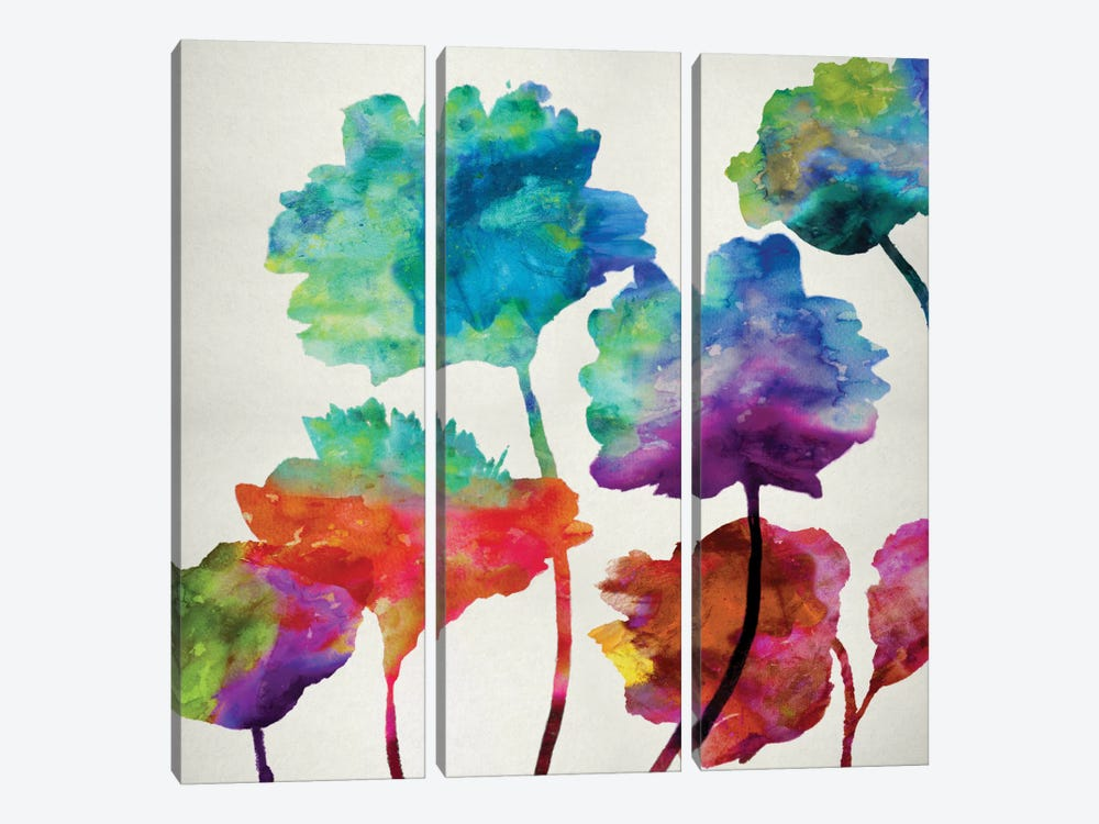 In Full Bloom II by Vanessa Austin 3-piece Canvas Artwork