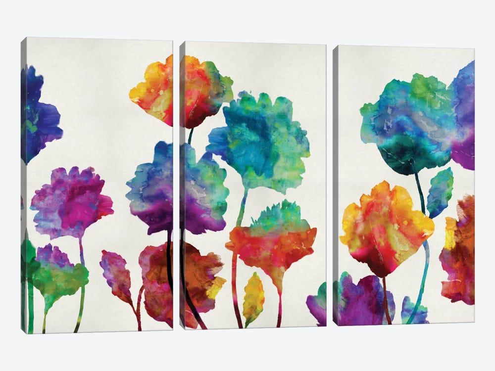Playful Blossom by Vanessa Austin 3-piece Canvas Artwork