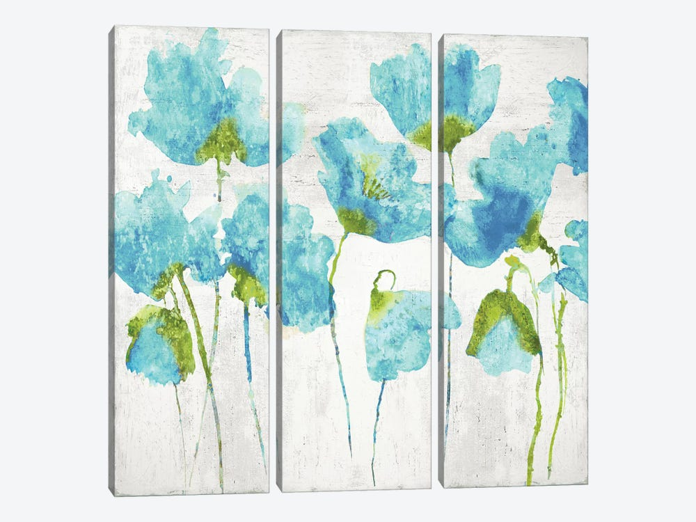 Aqua Friends I by Vanessa Austin 3-piece Canvas Artwork