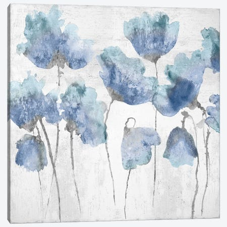 Indigo Friends I Canvas Print #AUS36} by Vanessa Austin Art Print