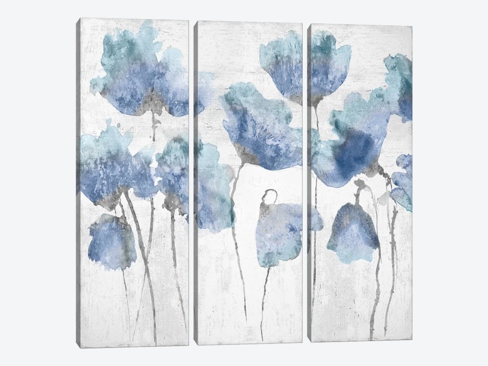 Indigo Friends I 3-piece Canvas Art