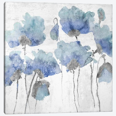 Indigo Friends II 3-Piece Canvas #AUS37} by Vanessa Austin Art Print