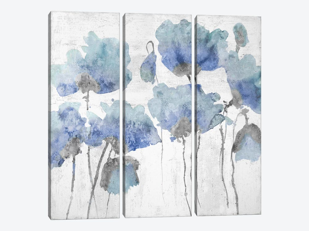 Indigo Friends II by Vanessa Austin 3-piece Canvas Print