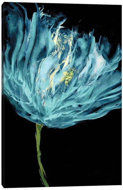 Aqua Tulips I Canvas Art Print