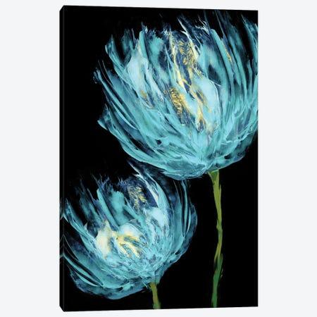 Aqua Tulips II Canvas Print #AUS39} by Vanessa Austin Canvas Art