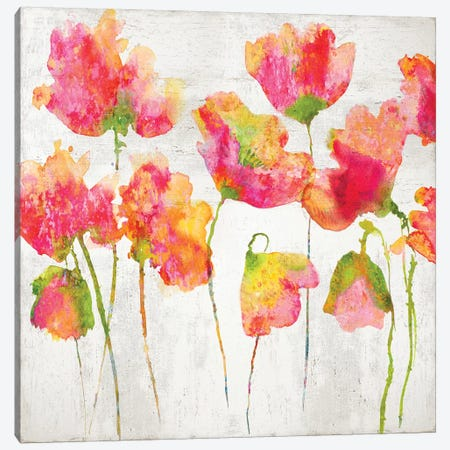 Gathering in Pink I Canvas Print #AUS51} by Vanessa Austin Canvas Artwork