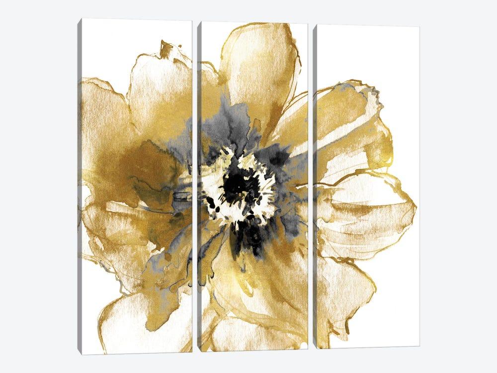 Golden I by Vanessa Austin 3-piece Canvas Art