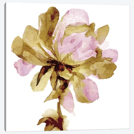 Fresh Bloom Pink I Canvas Print #AUS60} by Vanessa Austin Art Print