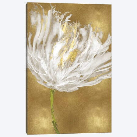Tulips on Gold I Canvas Print #AUS62} by Vanessa Austin Art Print