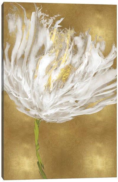 Tulips on Gold I Canvas Art Print