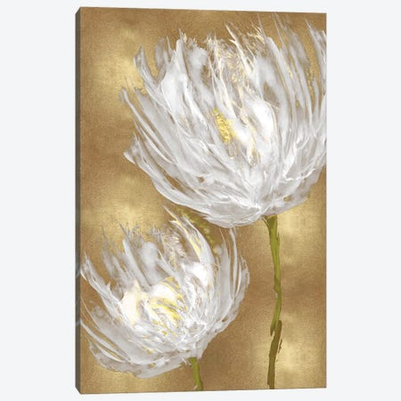 Tulips on Gold II Canvas Print #AUS63} by Vanessa Austin Art Print