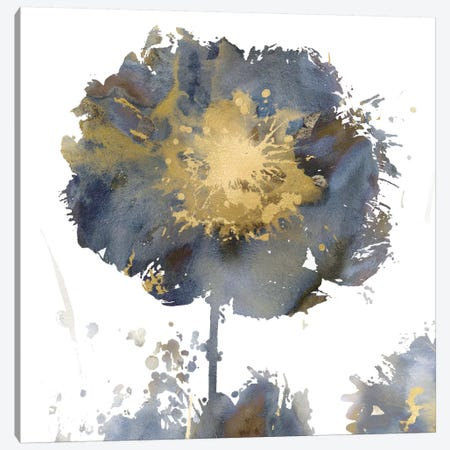 Flower Burst I Canvas Print #AUS8} by Vanessa Austin Canvas Print