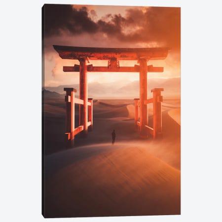 Fire Gate Canvas Print #AUT11} by Annisa Tiara Utami Canvas Print