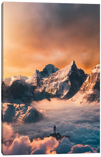 Peak Canvas Art Print