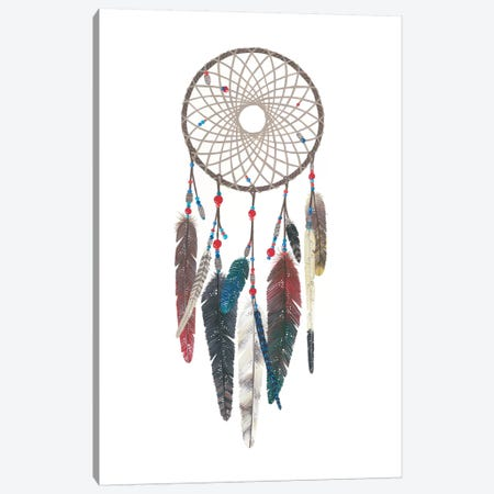 Dreamcatcher I Canvas Print #AVC10} by Ana Victoria Calderon Canvas Art