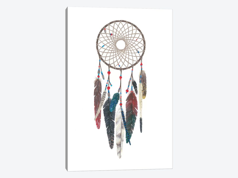 Dreamcatcher I by Ana Victoria Calderon 1-piece Canvas Print
