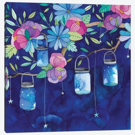 Fireflies Canvas Print #AVC14} by Ana Victoria Calderón Canvas Print