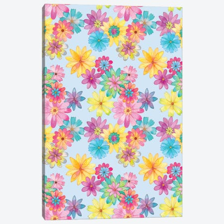 Floral Pattern Canvas Print #AVC15} by Ana Victoria Calderón Canvas Print