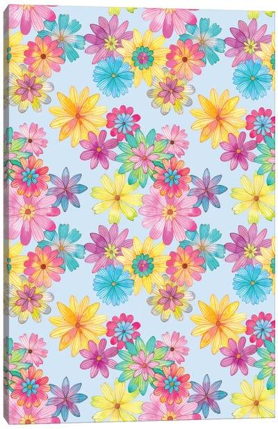 Floral Pattern Canvas Art Print