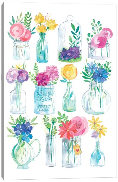 Jars Canvas Art Print