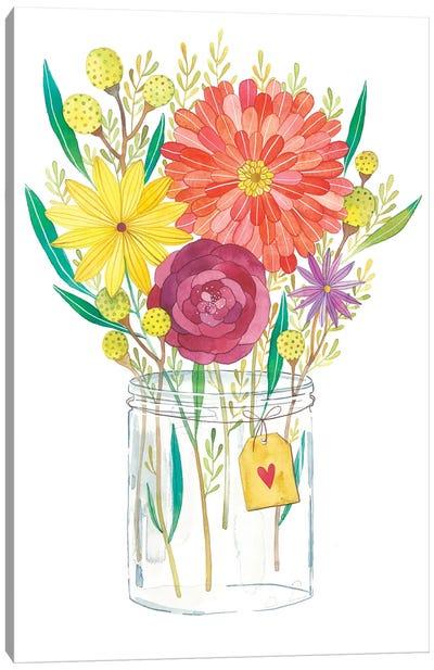 Autumn Flowers Canvas Art Print