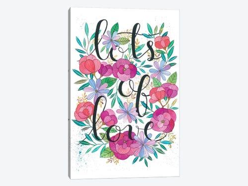 Lots Of Love Canvas Art Print By Ana Victoria Calderón Icanvas
