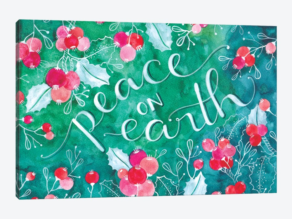 Peace On Earth by Ana Victoria Calderon 1-piece Canvas Artwork