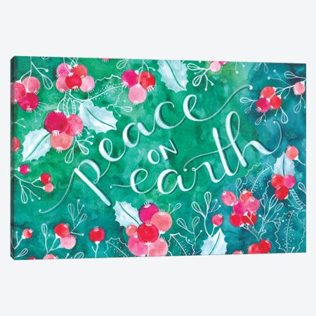 Peace On Earth Canvas Print #AVC26} by Ana Victoria Calderón Canvas Artwork