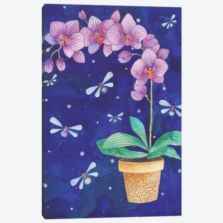 Radiant Orchid Canvas Print #AVC27} by Ana Victoria Calderón Canvas Art