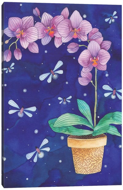 Radiant Orchid Canvas Art Print