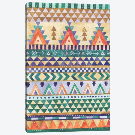 Aztec Canvas Print #AVC2} by Ana Victoria Calderón Canvas Art Print