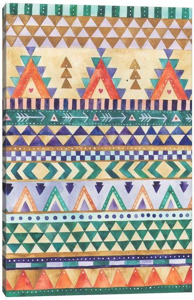 Aztec Canvas Art Print