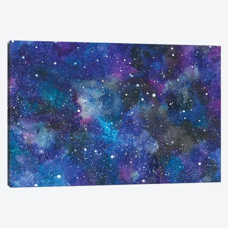 Rocket Background Canvas Print #AVC30} by Ana Victoria Calderón Canvas Artwork