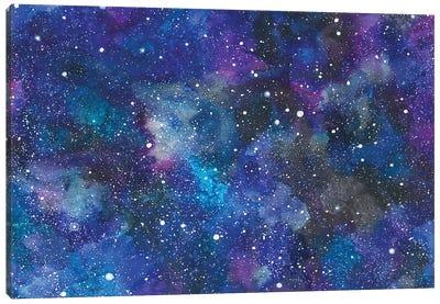 Rocket Background Canvas Art Print