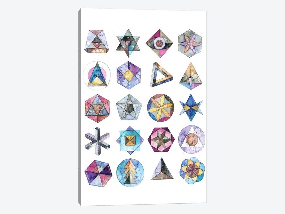 Sacred Geometry by Ana Victoria Calderón 1-piece Canvas Artwork