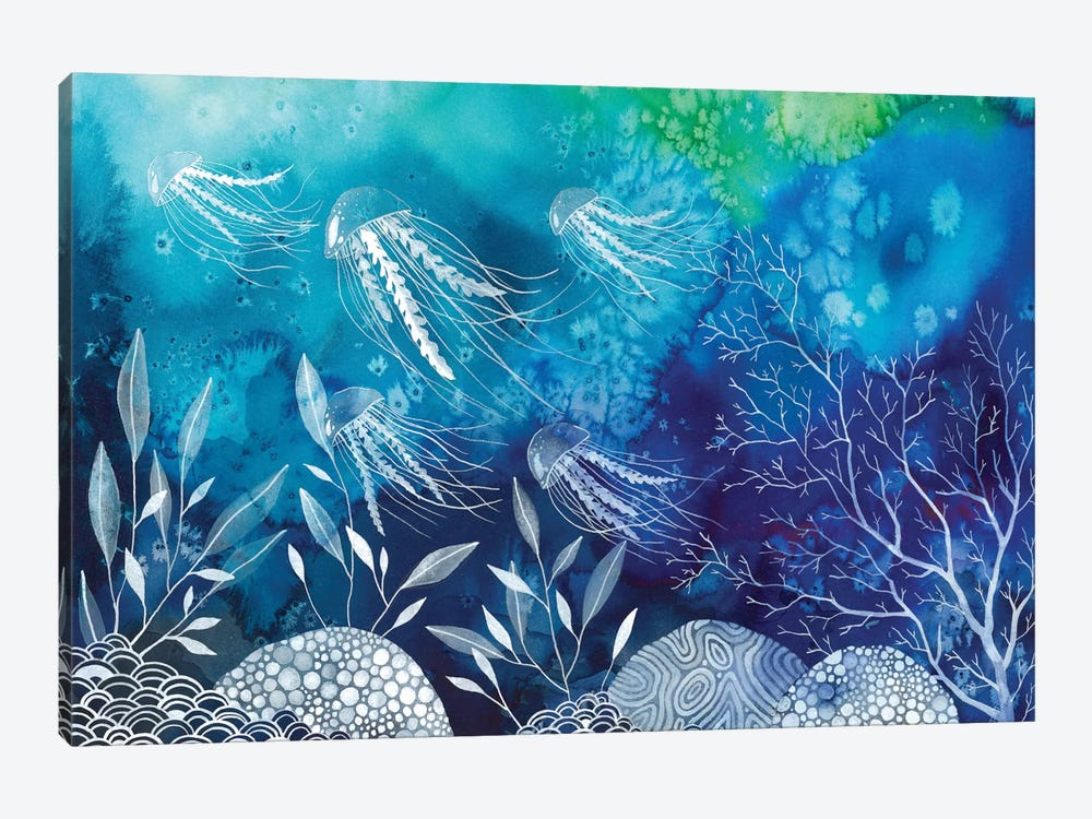 Sea Life by Ana Victoria Calderon 1-piece Art Print