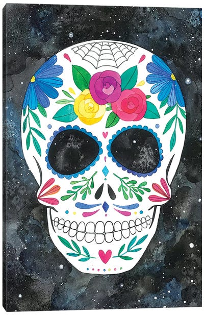 Sugar Skull I Canvas Art Print