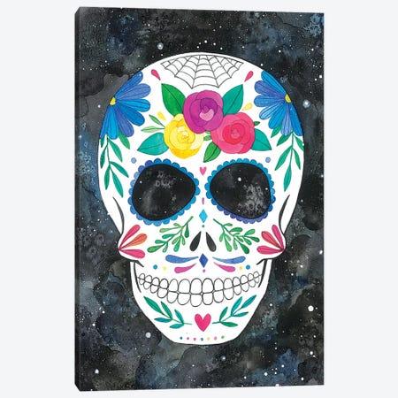 Sugar Skull I Canvas Print #AVC33} by Ana Victoria Calderón Canvas Art